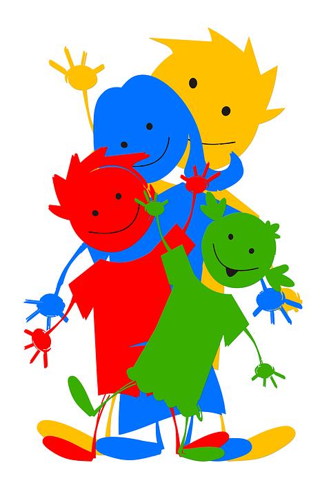 Familie Strichmännchen
