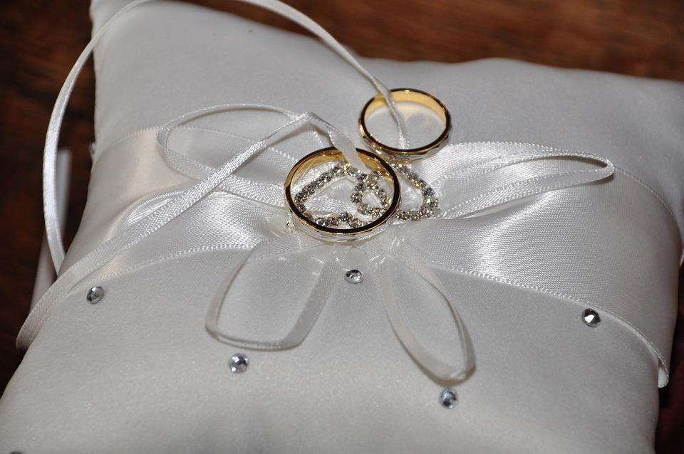 Cuscino Per Le Fedi Fai Da Te.Matrimonio Felicita Innamorato Foto Gratis Su Pixabay