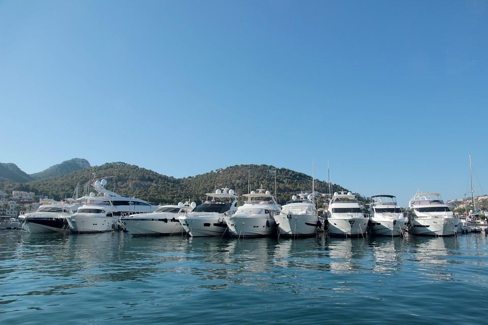 Yacht, Marina, Port, Yachts, Boats