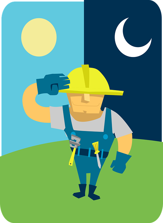 plumber cartoon wrench free vector graphic on pixabay