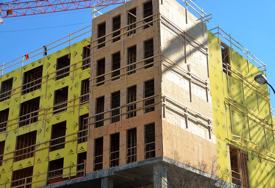 Apartment Building Construction free photo: building construction, apartments - free image on