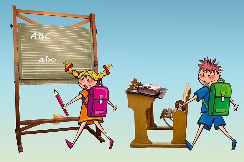 Skole, Schulanfang, Schulbeginn, Einschulung