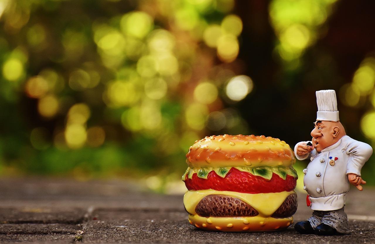 Днем, смешные картинки гамбургеров
