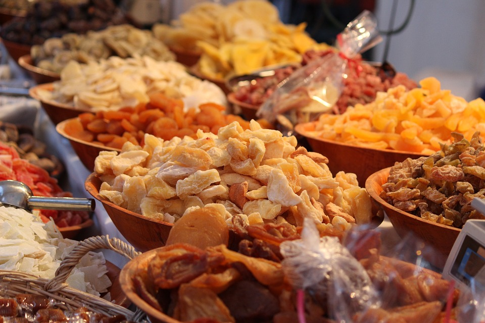 Frutta Secca, Snack, Mangiare, Beneficiare Di, Mangimi