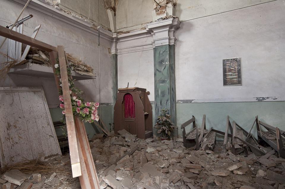 免费照片: 地震, 瓦砾, 拉奎拉, ...
