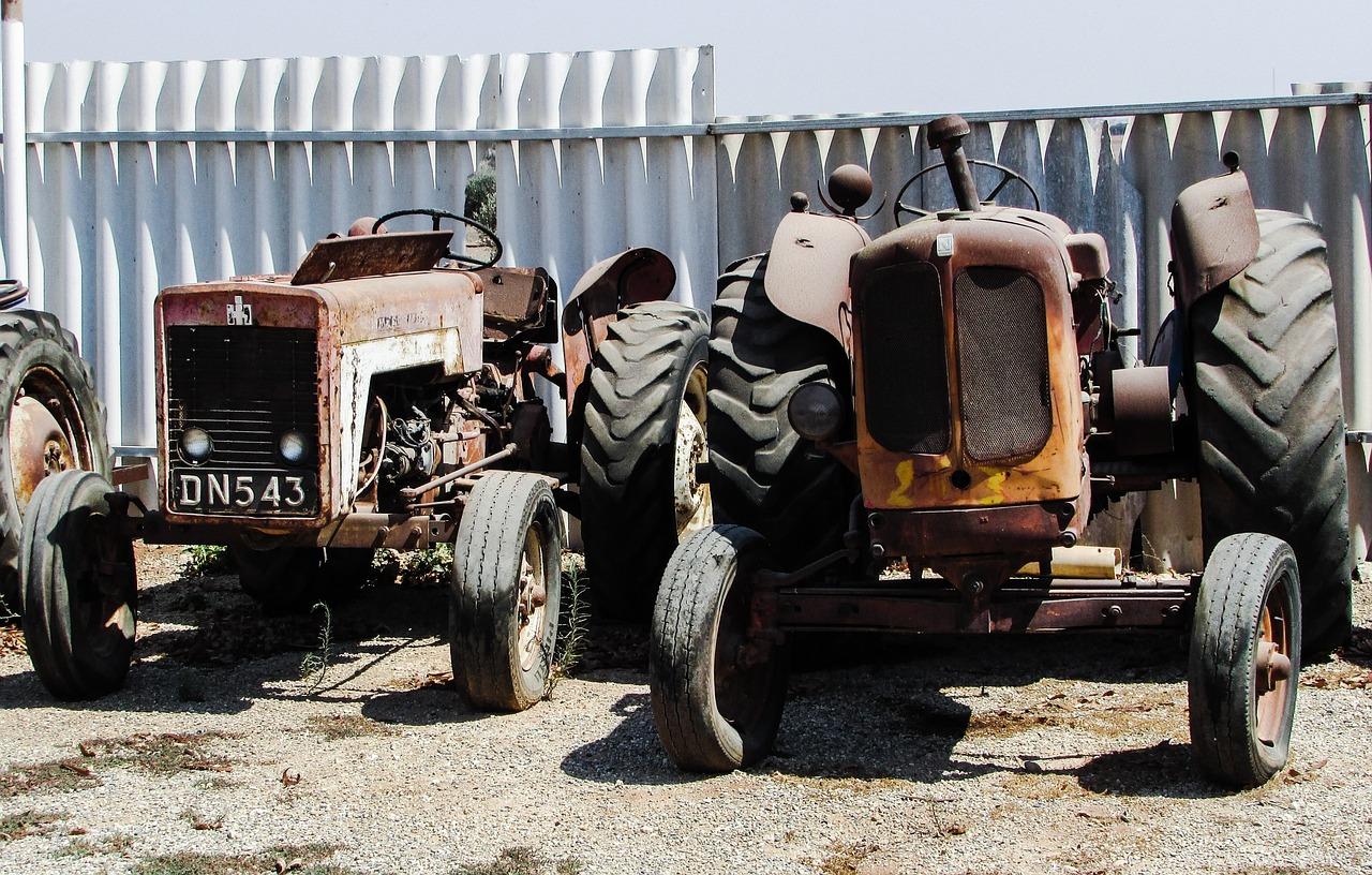 Старинные трактора фото