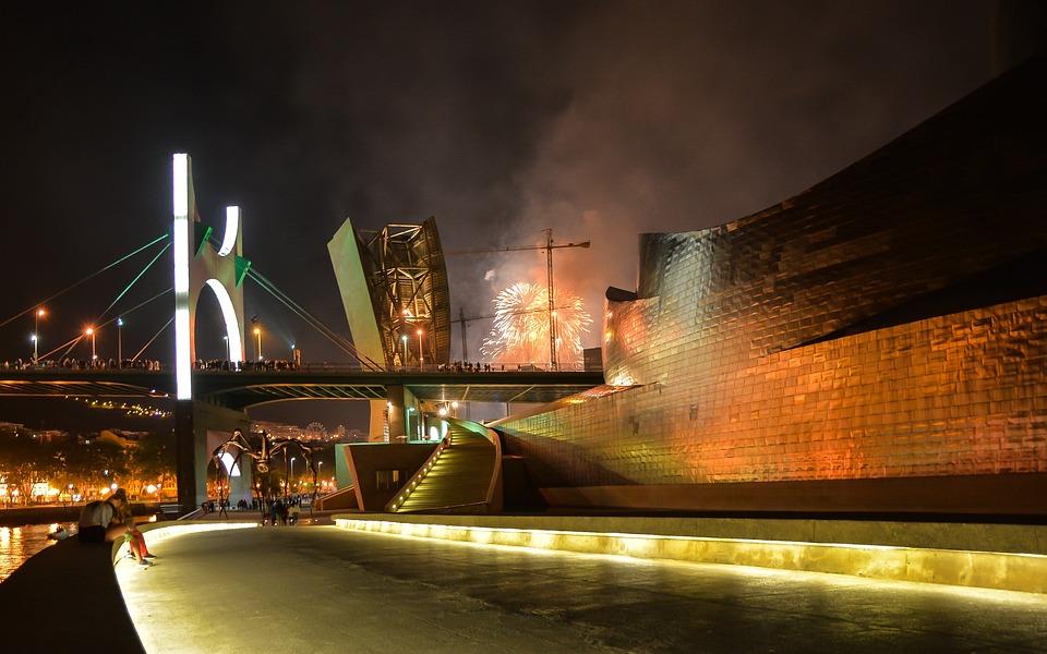 Bilbao, Guggenheim, Museo, Viajes, Arquitectura, España