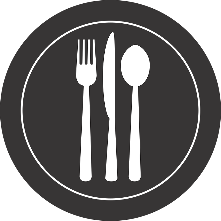 Free Vector Graphic Silverware Plate Fork Spoon Free