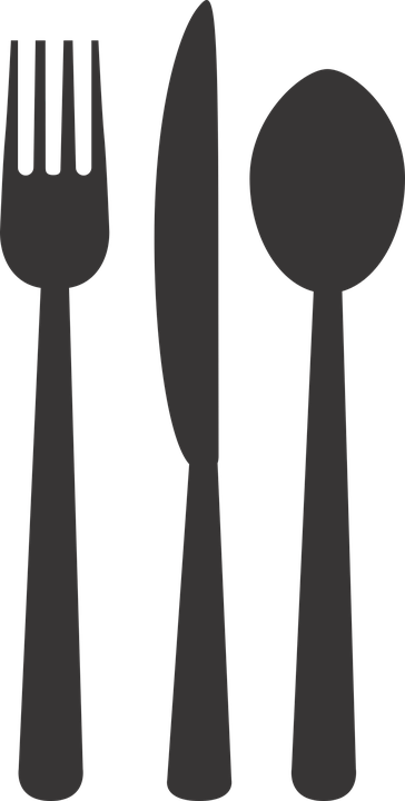 Silverware Plate Fork 183 Free Vector Graphic On Pixabay