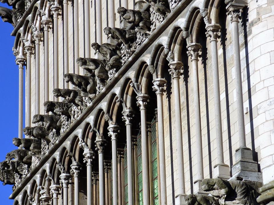 Eglise, Notre-Dame De Dijon, Gargouilles