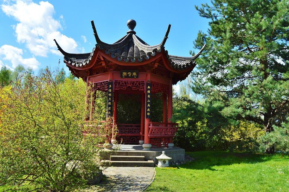 pavillion china tuin tuinen van de - gratis foto op pixabay