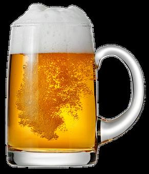 Bier Bierkrug Schaum Der Durst Gelage Getr