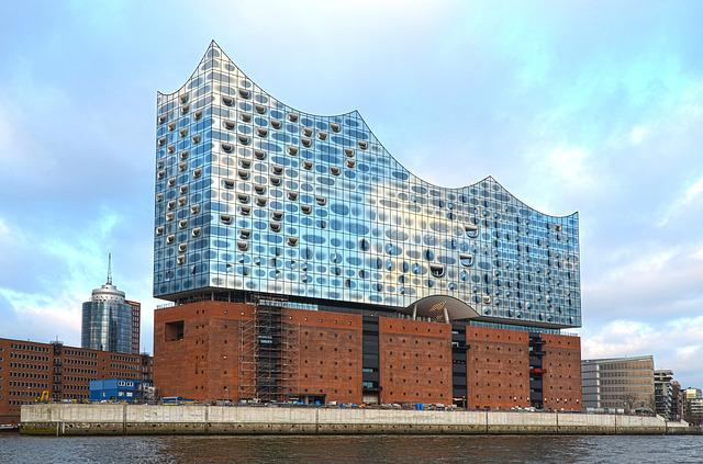 hamburg elbphilharmonie kostenloses foto auf pixabay. Black Bedroom Furniture Sets. Home Design Ideas