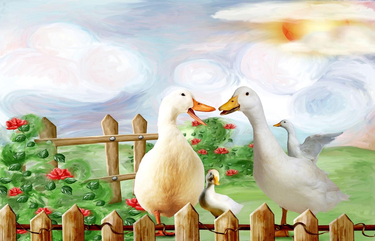 Картинка с гусем для детей, спортсменов открытки днем