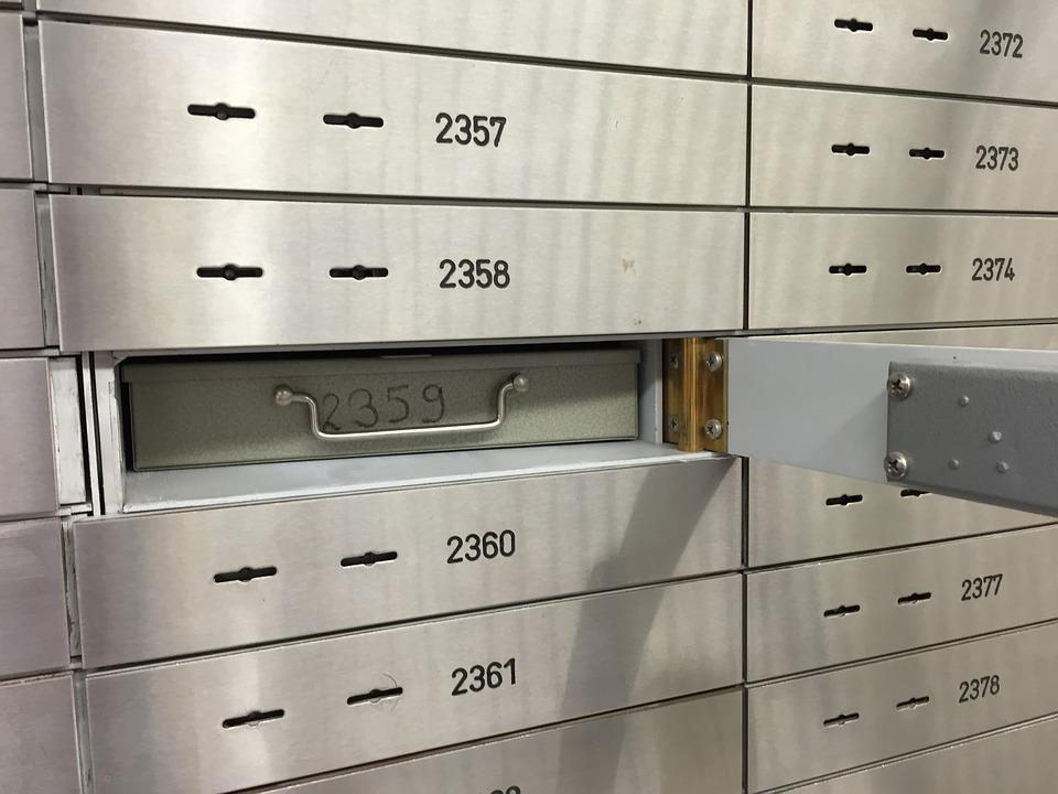 Safe, Bank, Safe Deposit Box, Security, Vault