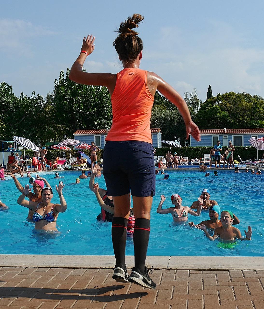 Wassergymnastik Gardasee Sport - Kostenloses Foto auf Pixabay