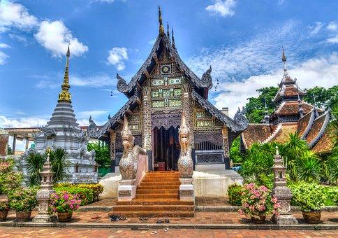 Temple, L'Architecture, Bâtiment, Façade