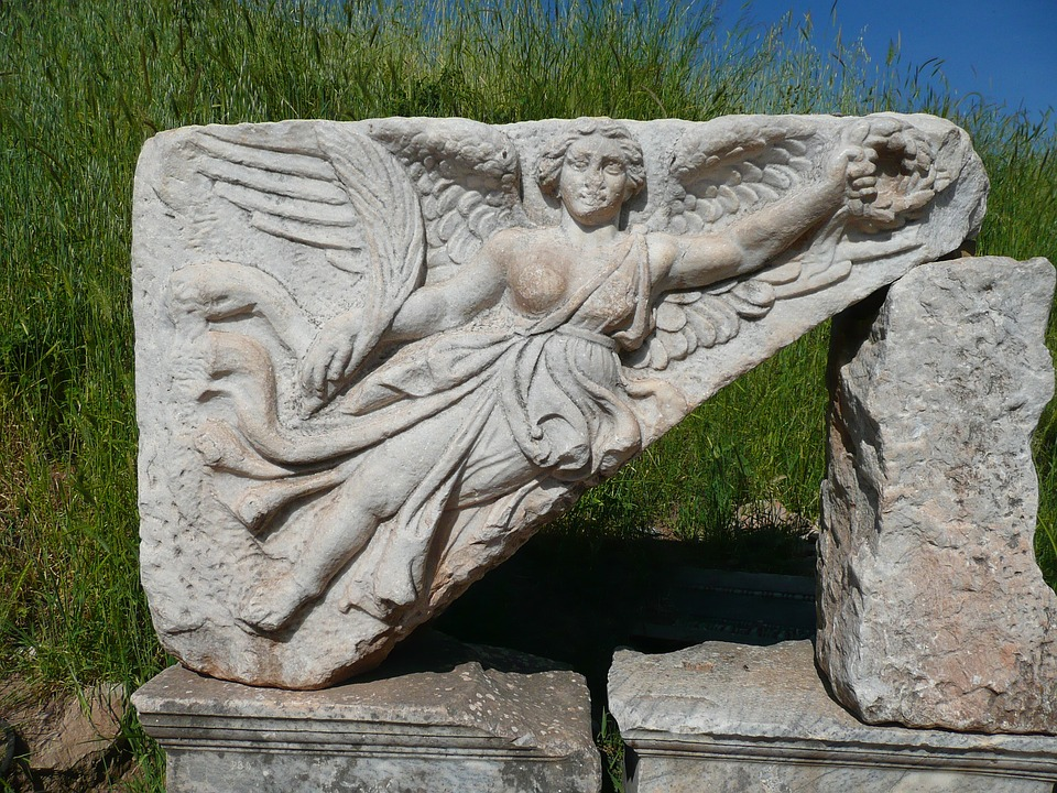 nike goddess of victory city of ephesus turkey