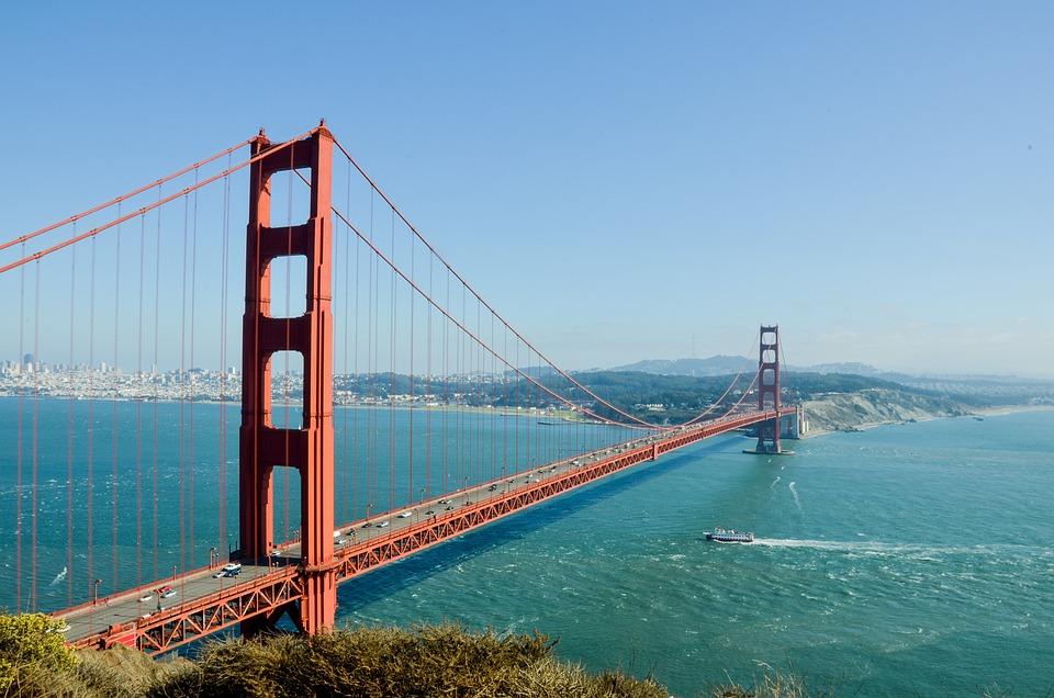 Golden Gate Bridge Usa America - Free photo on Pixabay