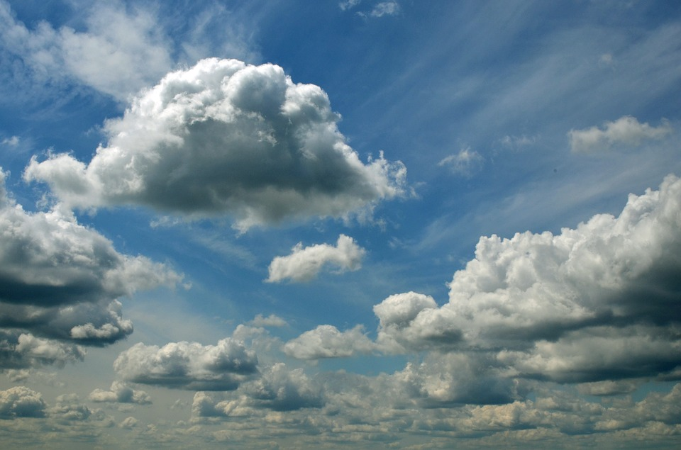 clouds sky blue cloudy free photo on pixabay