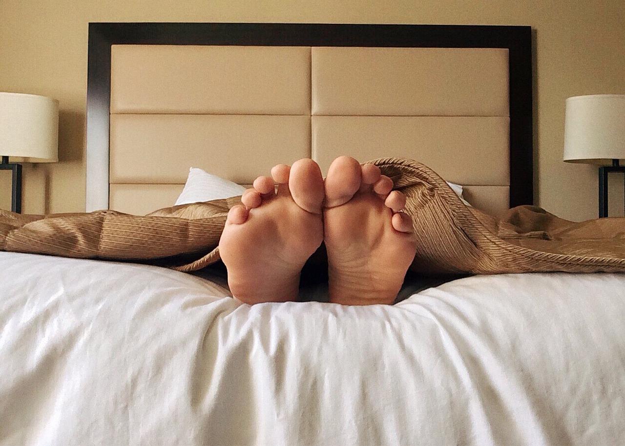 Sleep Bed Feet - Free photo on Pixabay