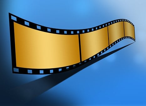 Gold Bank Movie Reel Film Cinema Ente