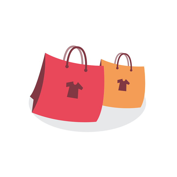 Shopping Bags Bag · Free vector graphic on Pixabay