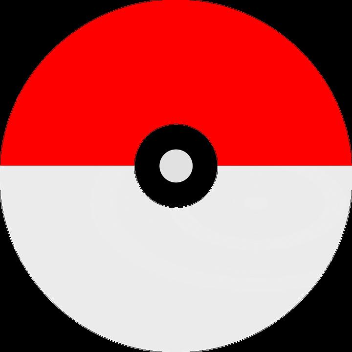 pokemon ball free vector graphic on pixabay