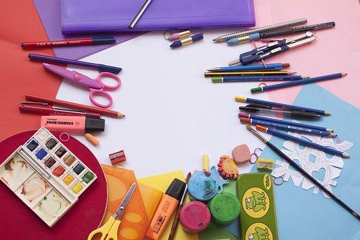 Malarstwo, Szkoła, Kolor, Akwarela