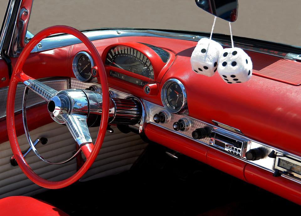 Classic Car Interior Design   Free Photo On Pixabay
