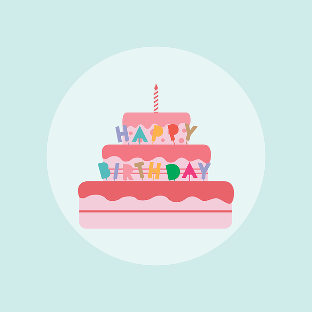 Birthday Cake 183 Free Vector Graphic On Pixabay