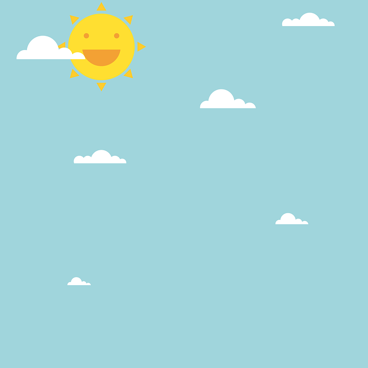 Dag, Sol, Sky, Sommer, Solrik, Lykkelig, Sollys, Moro