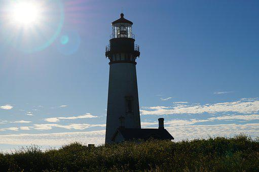 Yaquina, Lighthouse, Oregon, Coast