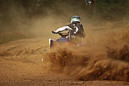 Quad, Cross, Dust, Sand, Race
