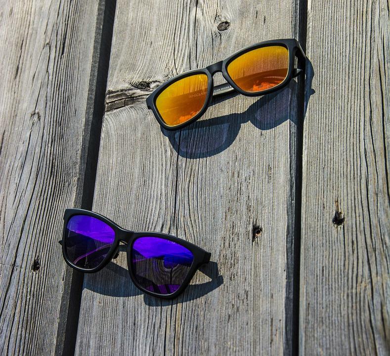 Gafas De Sol, Gafas, Verano, Sol, Vacaciones, La Moda