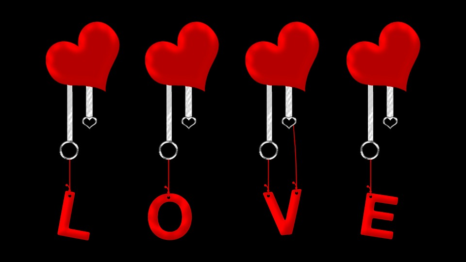 Free illustration: Love, Hearts, Valentine, Love Heart - Free Image on ...