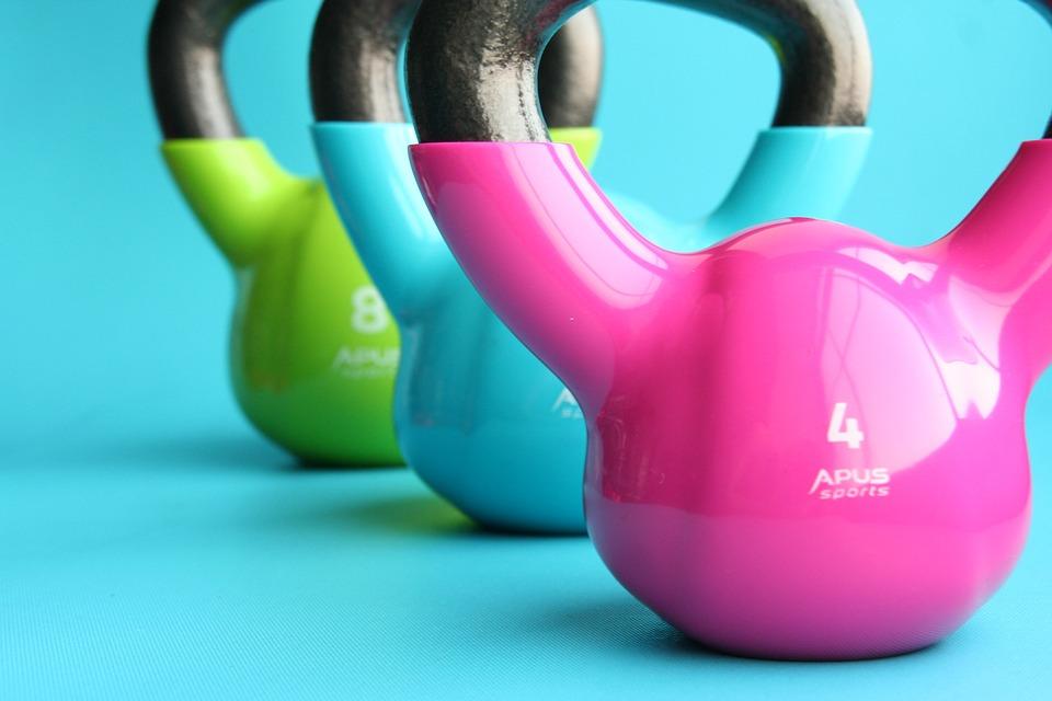 Kettlebells, Siłownia, Ćwiczenia, Odchudzanie, Hantle