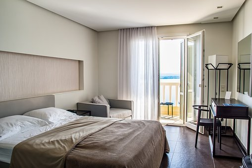 Travel, Hotel Rooms, Hotel, Room, Bed