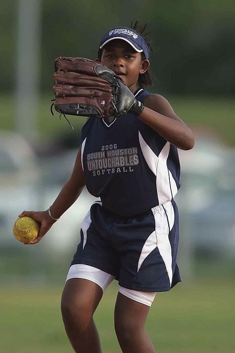 垒球,球员,播放,行动,投掷,游戏,玩耍,运动,竞争,运动员院子秋千违建图片