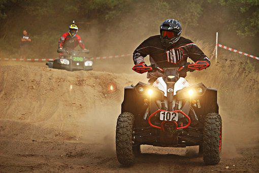 Cross Motocross Quad Atv Motorcycle Sand R