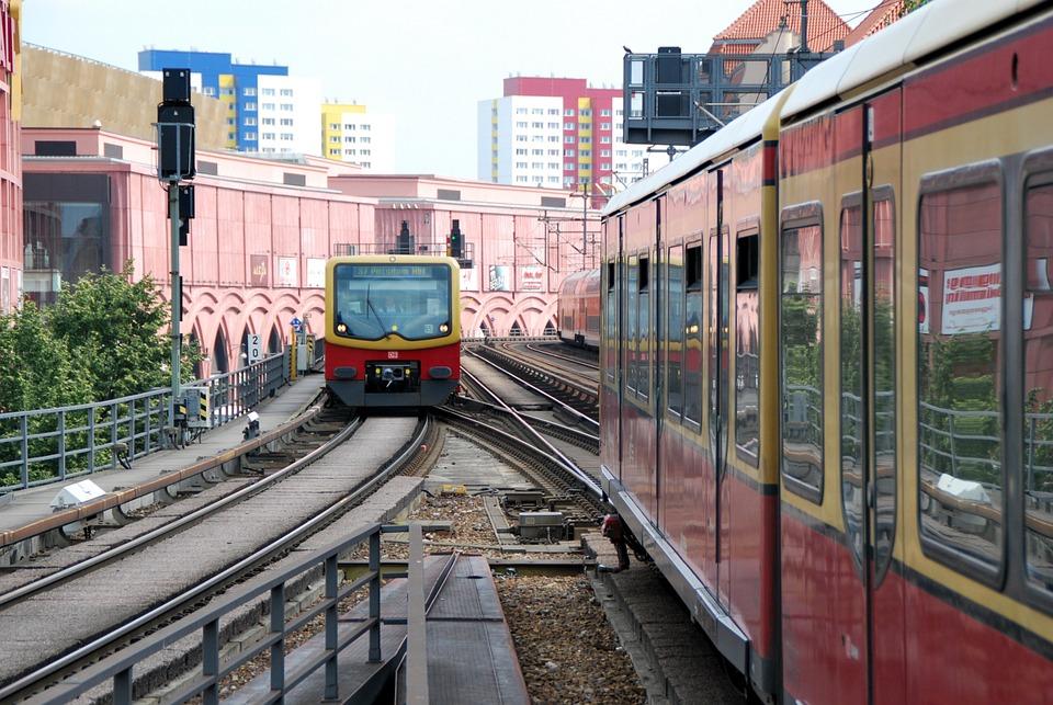 Berlin Train S Bahn Bridge Free Photo On Pixabay
