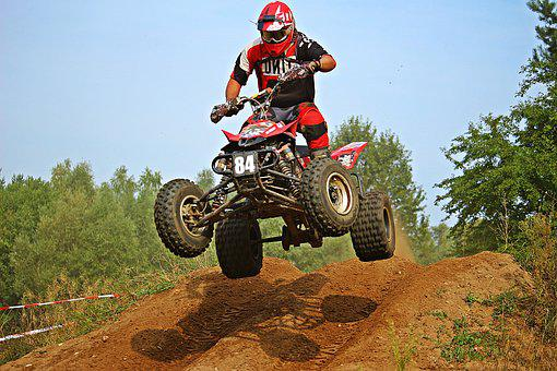 Quad Cross Enduro Motocross Jump All-Terra