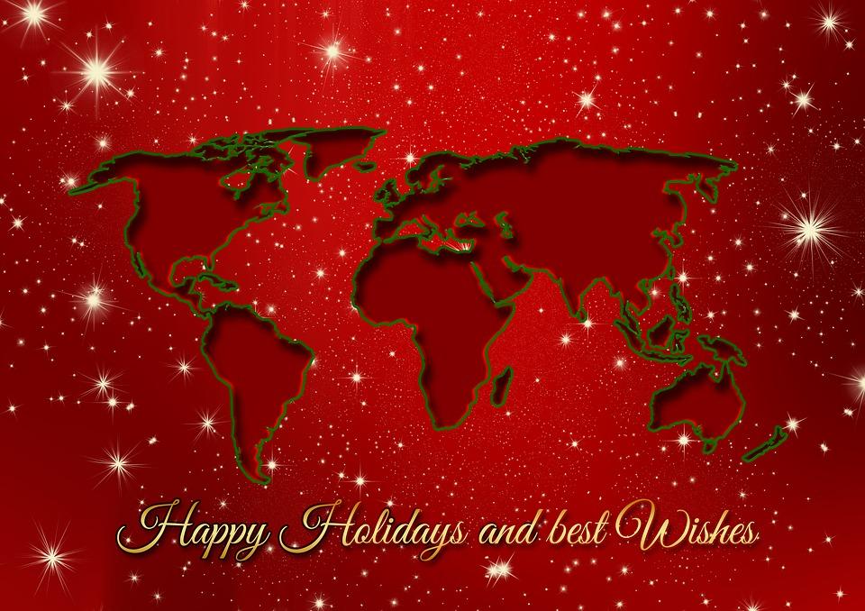 Christmas holidays greetings free image on pixabay christmas holidays greetings continents earth m4hsunfo