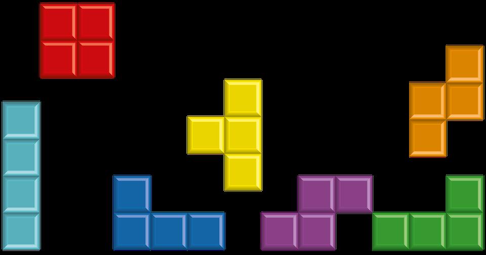 Cube, Tetris, Play, Blocs, Bloc