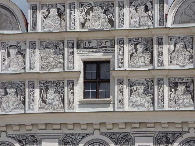 Photo gratuite fen tre kamienica d coration image for Decoration facade fenetre