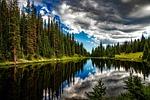 jezioro irene, colorado, wody