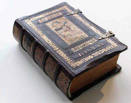 Bible, Livre, Vieux Livre, Papier, Vieux