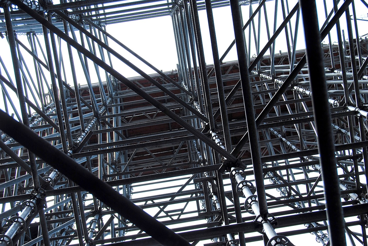 Scaffolding Scaffold Construction - Free photo on Pixabay
