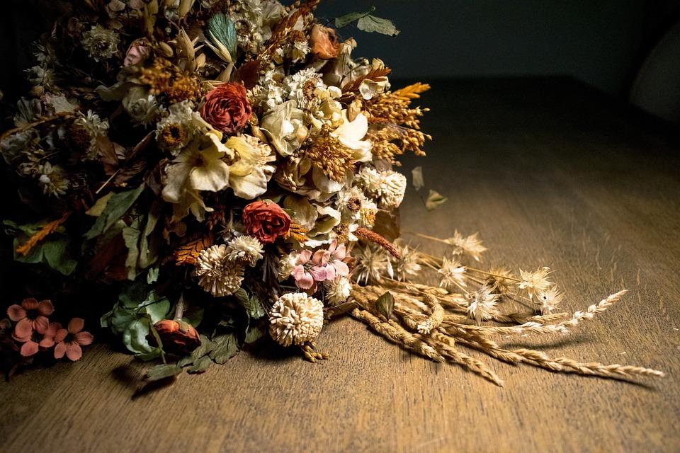 Fleurs Séchées Bouquet , Photo gratuite sur Pixabay