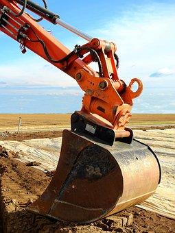 Koparki, Maszyny, Maszyna Do Budowy